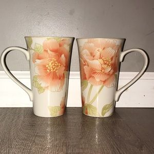 Other - Set of 2 tall coffee or tea mugs